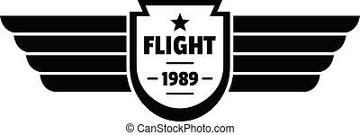 Flight 1989 logo, simple style