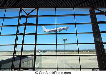 flight departing