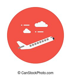 flight flat icon