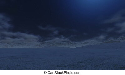 Snowy Mountain to the Moon