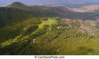 flight in Tatry mountains near Zakopane - flight in...