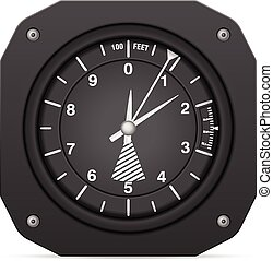 Flight instrument altimeter