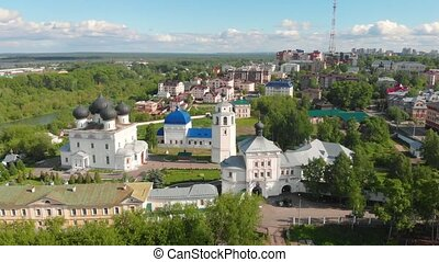 Uspensky (Assumption) Trifonov monastery with Assumption...