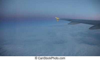 Flight Over Clounds