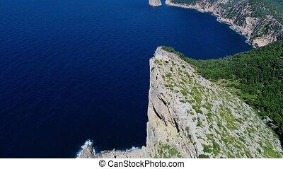 Flight over Mirador Es Colomer, Mallorca, Spain - Flight...