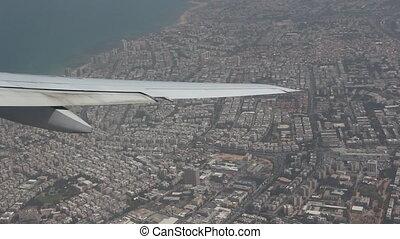 Flight over Tel-Aviv - Shot of Flight over Tel-Aviv