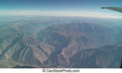 Flight Over The Andes, Peru