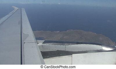 Flight. Rhodes with aircraft