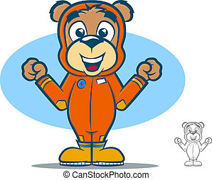 Flight Suit Bear
