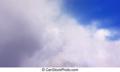 Flight Through Clouds