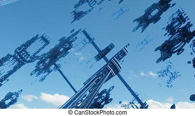 flight through complex structures