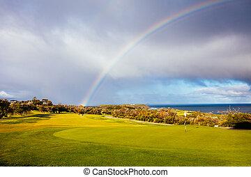 Flinders Golf Course on Mornington Peninsula Australia