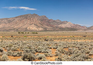 Flinders Ranges Landscape. South Australia