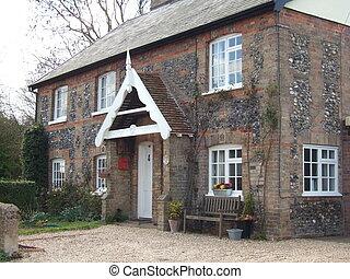 Flint House - Traditional flint house in Suffolk, UK