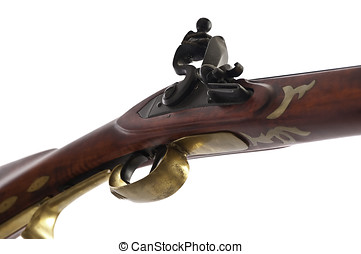 Flint lock black powder rifle