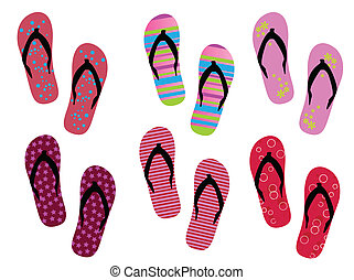 Flip flops - Modern flip flops