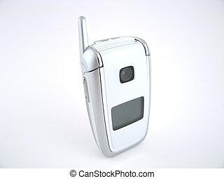 Flip phone closed