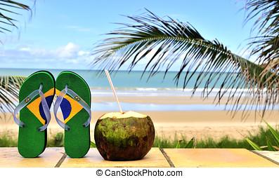 flipflop, brasileño