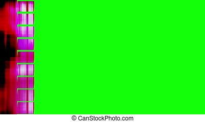 Flipped Geometric Wipe Green Screen - Flipped Geometric Wipe...