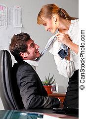 flirting at office