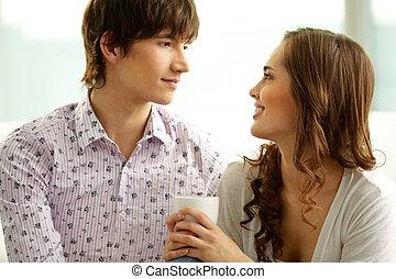 Flirter regard