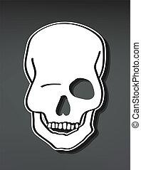 Flirty skull