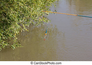 float for fishing on the river
