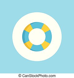 Float vector icon sign symbol