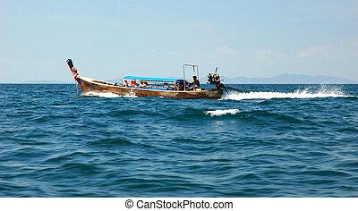 Floating boat 2