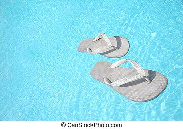 Floating Flip Flops