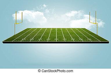 Floating Football field
