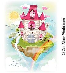 Floating Island Castle