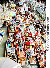 Floating Market. - Floating Market is the oldest of the Thai...