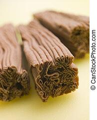 flocon chocolat, barres