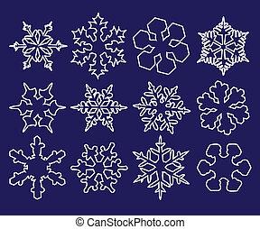 flocon de neige, collection