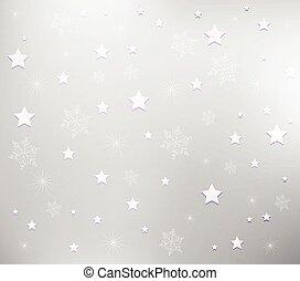 flocons neige, fond