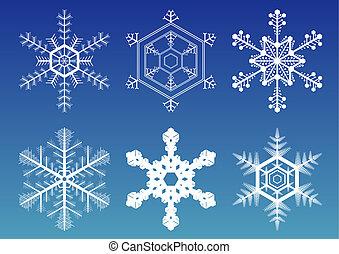 flocons neige