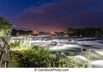 flod, niagara