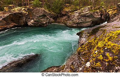flod, norge