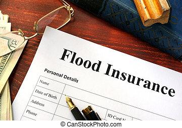 Flood insurance form