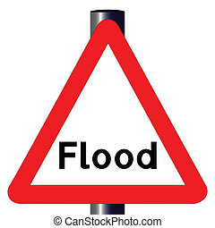 Flood Traffic Sign