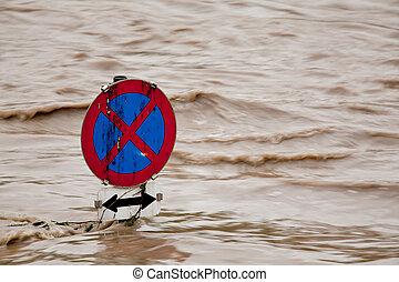 flooding in flood after rain - flooding in flood after heavy...