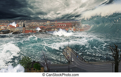 Flooding in Kaunas - Manipulation of the city, which is ...