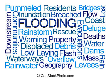 Flooding Word Cloud