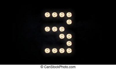 Floodlights 082 - This is a real stage lighting, along with ...
