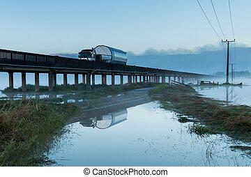 Floodway Bridge Whirokino