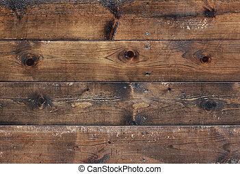 floor boards - old brown floor boards texture