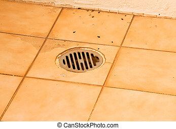 floor drain.