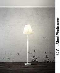 floor lamp in interior