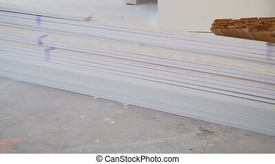 Floor moldings for interior decoration - New Baseboard...